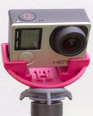 Kugelkopf Rondo-H mit Kamera GoPro Hero