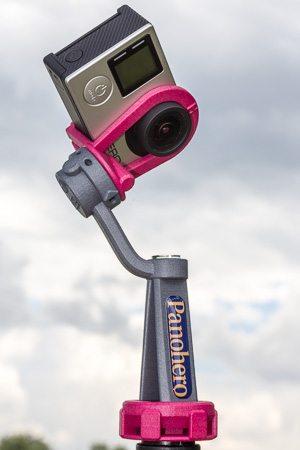 Nodalpunktadapter Panohero-Pro-H mit Kamera GoPro Hero