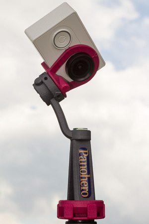 Nodalpunktadapter Panohero-Pro-Y mit Kamera Xiaomi Yi