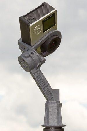 Nodalpunktadapter Panohero-Std-H mit Kamera GoPro Hero