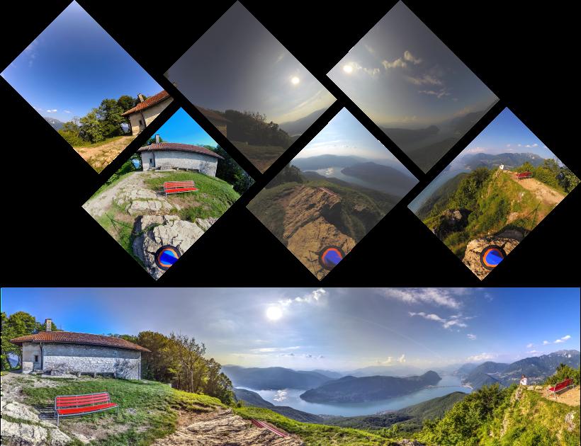 Panorama mit Action Camera erstellen - aus 6 Bildern zusammengesetzt
